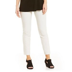 NEW Eileen Fisher Crepe Stretch Slim Ankle Pants